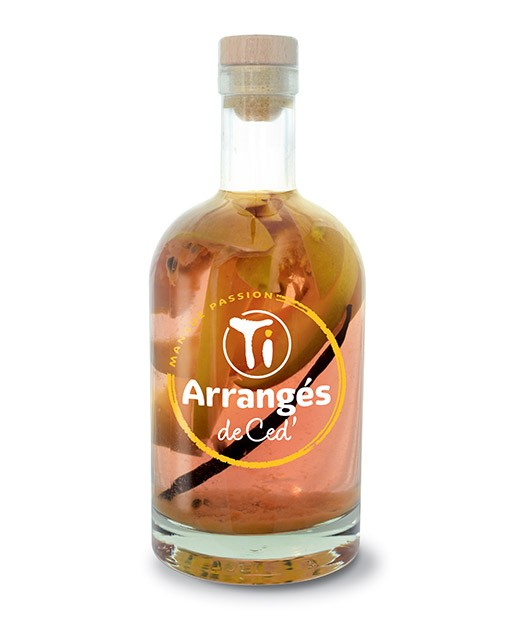 Flavoured Rum - Mango and Passion fruit - Les Rhums de Ced'