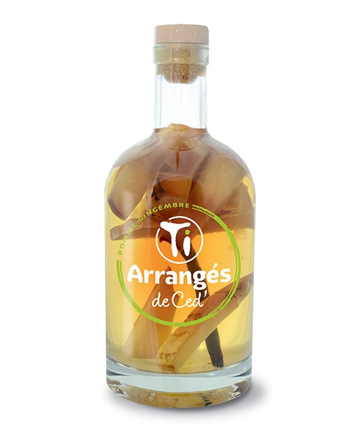 Flavoured Rum - Apple and Ginger - Les Rhums de Ced'