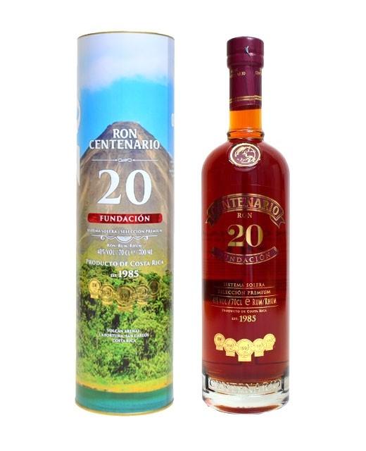 Centenario Rum 20 years old - Centenario