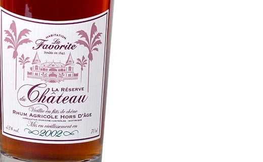 Rum La Favorite - The reserve of the castle 2002 - La Favorite
