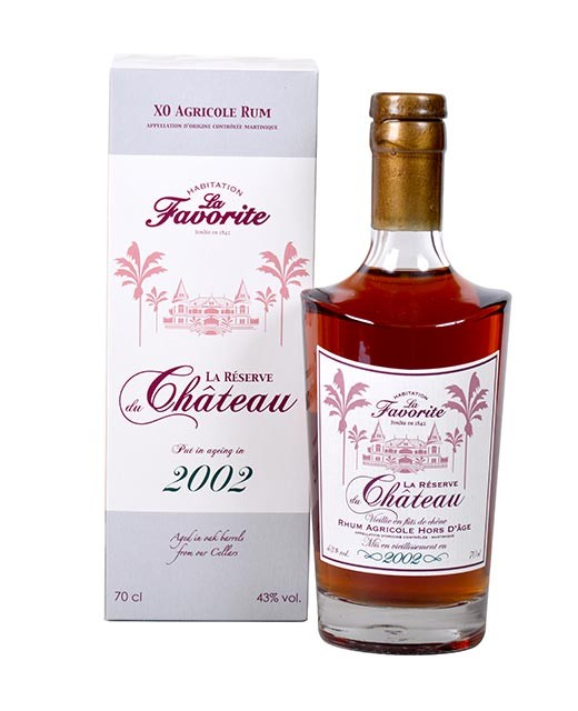 Rum La Favorite - The reserve of the castle 2002 - Favorite (La)