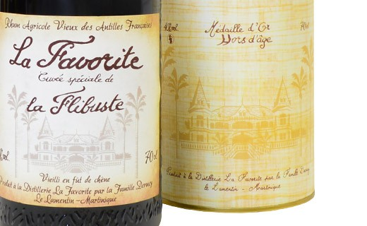 Rum La Favorite - Cuvée La Flibuste 1992 - La Favorite