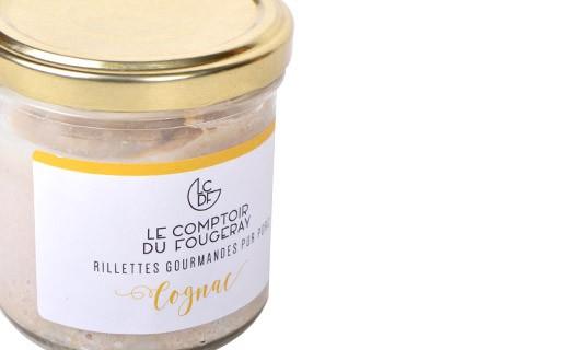 Pork rillettes with Cognac - Comptoir Fougeray