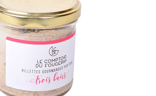 Pork rillettes with three berries - Comptoir Fougeray