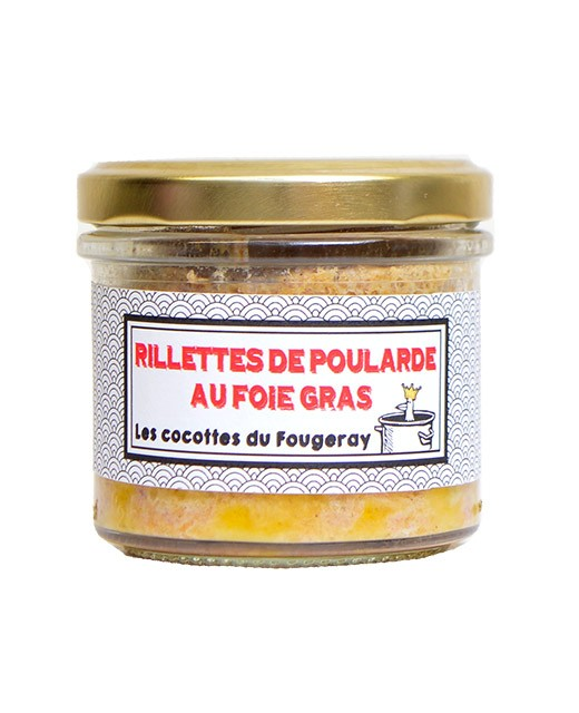 Hen rillettes with foie gras - Mottay Gourmand (Le)