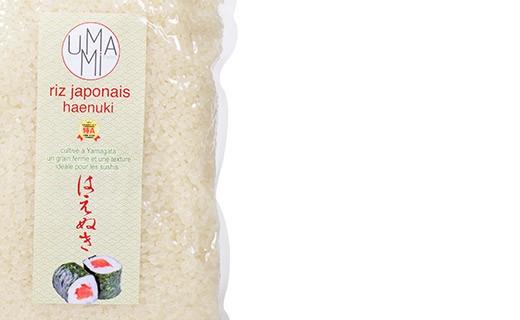 Haenuki Japanese rice (sushi rice) - Umami