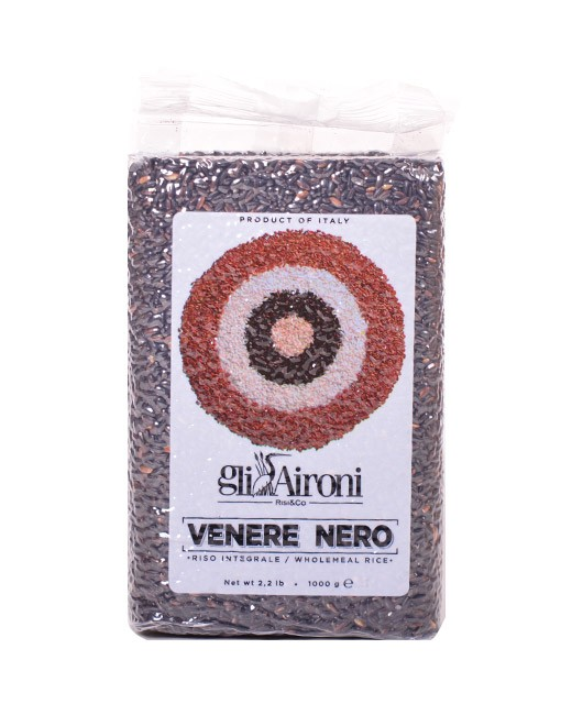 Black Rice Venere Nero 1 kg - Gli Aironi