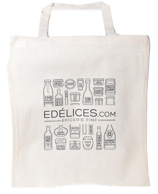 Cotton bag edélices.com - Edélices