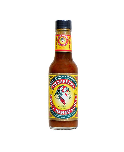 Spicy Mango Pickapeppa sweet/salty and spicy sauce - Pickapeppa