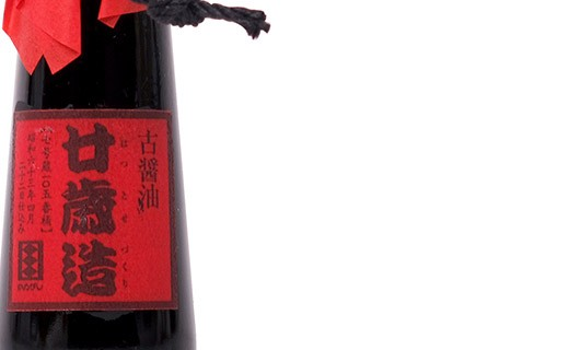 Soy sauce - 20 years old - Kamebishiya