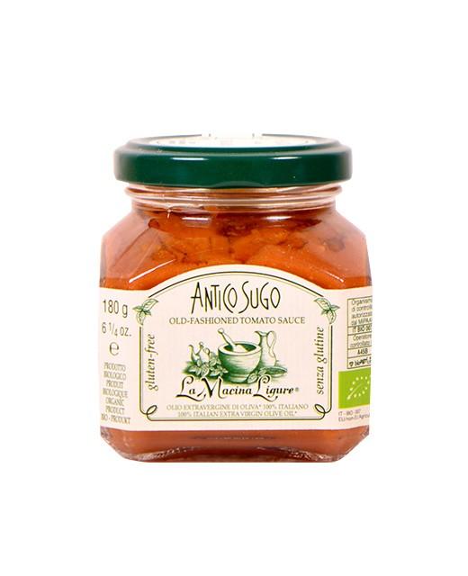 Artisanally made Antico Sugo tomato sauce - Organic - La Macina Ligure