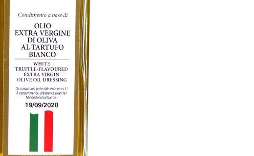 Extra-virgin olive oil with white truffle - Savini Tartufi