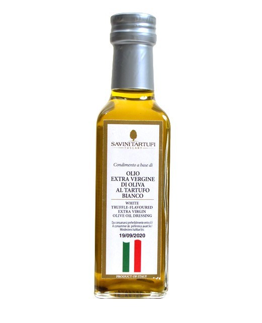 Extra-virgin olive oil with white truffle