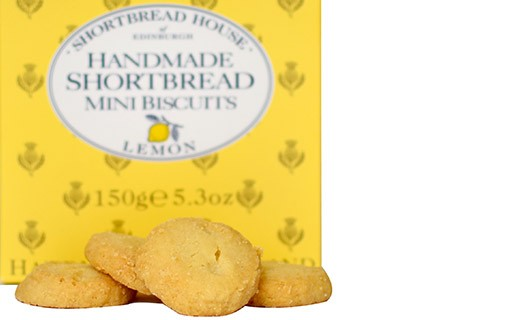 Lemon shortbread - Shortbread House of Edinburgh