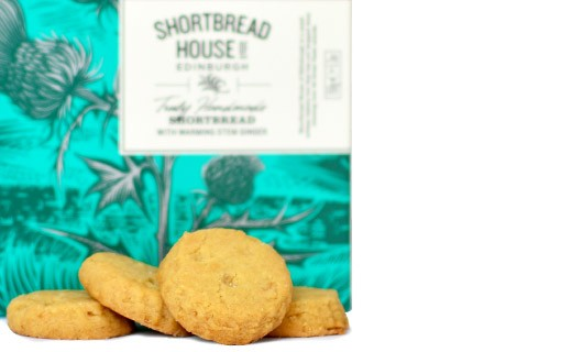 Candied ginger shortbread - Shortbread House of Edinburgh