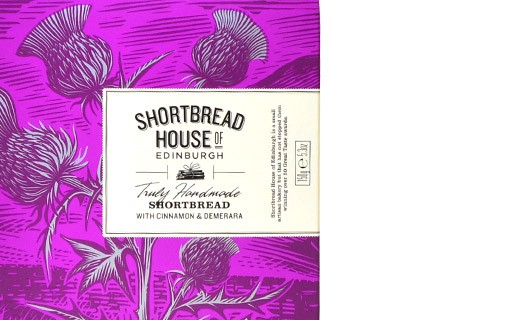 cinnamon and Demerara sugar shortbread - Shortbread House of Edinburgh