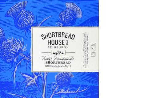 Macadamia nut shortbread - Shortbread House of Edinburgh