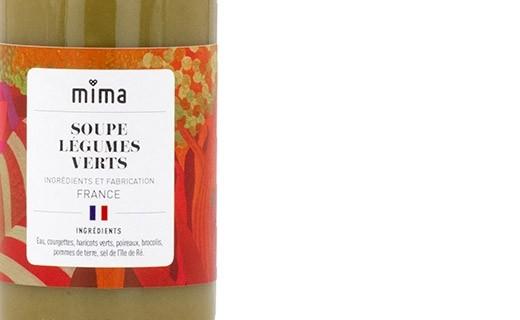 Organic green vegetable soup - Mima Bio