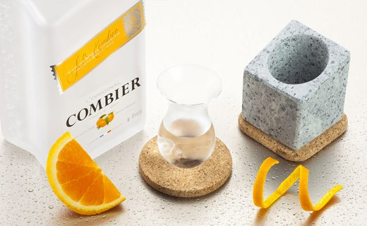 Stenkall vit - Cooler for brandies and liqueurs - Täljsten