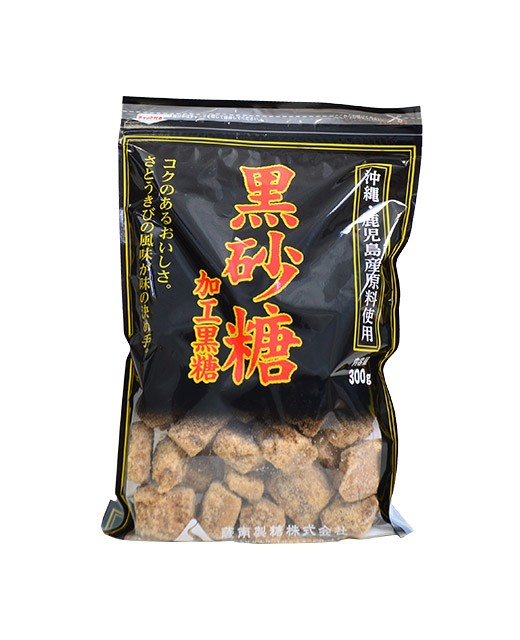 Black sugar from Okinawa and Kagoshima