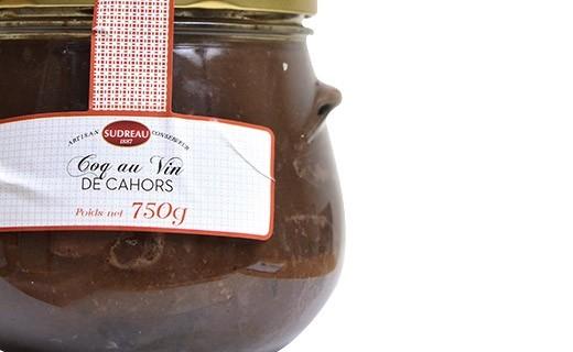 Coq au vin de Cahors - Sudreau