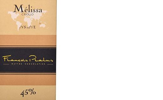 Milk chocolate bar Mélissa - Pralus