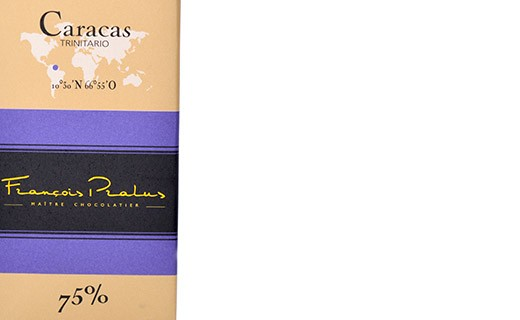 Dark chocolate bar Caracas - Pralus