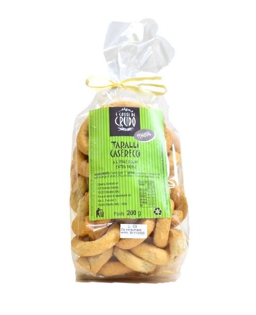 Taralli with fennel seeds - Crudo