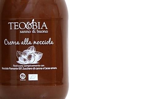 Spread - Organic hazelnut cream from Piedmont (1kg) - Teo & Bia