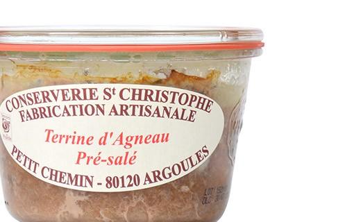 Agneau de Pré Salé (Saltmeadow Lamb) terrine - Conserverie Saint-Christophe