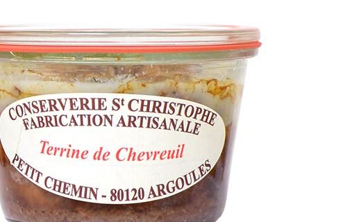 Venison terrine - Conserverie Saint-Christophe