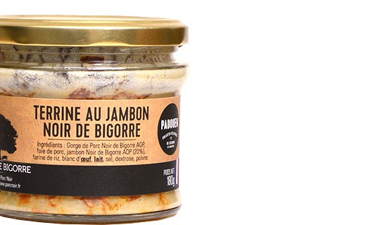 Bigorre black pork terrine - Padouen