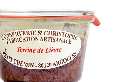 Hare terrine - Conserverie Saint-Christophe