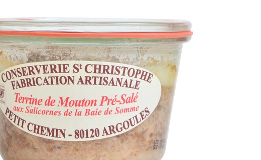 Mouton de Pré Salé (saltmeadow sheep) terrine - Conserverie Saint-Christophe