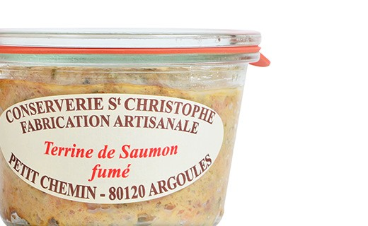 Smoked salmon terrine - Conserverie Saint-Christophe