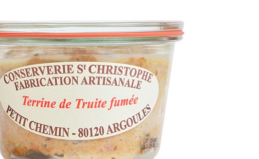 Smoked trout terrine - Conserverie Saint-Christophe