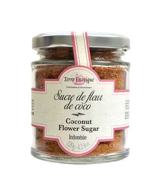 Coconut flower sugar - Terre Exotique