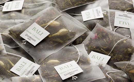 Bali tea - cristal sachets - Dammann Frères