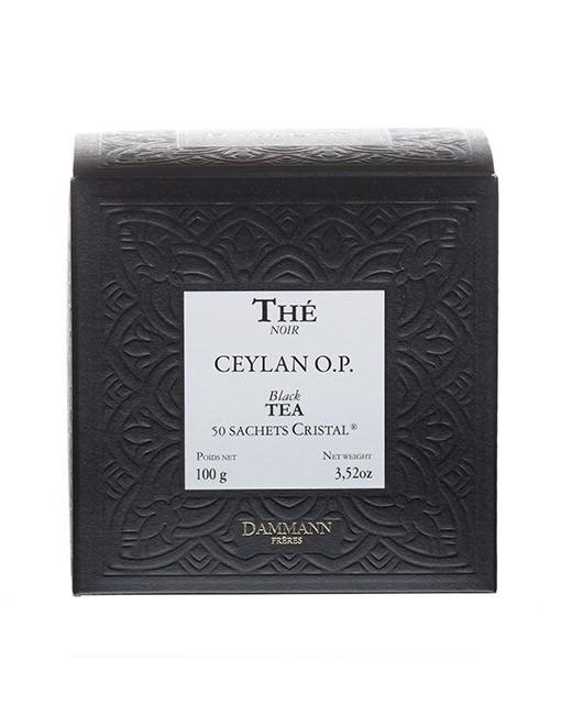Ceylan Tea - cristal sachets - Dammann Frères