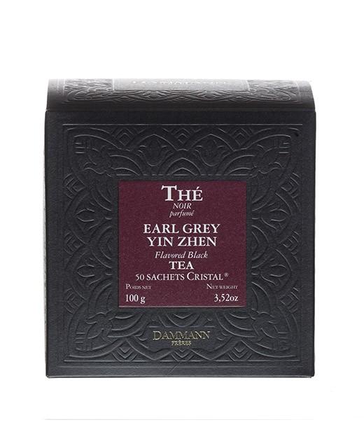 Earl Grey Yin Zhen Tea - cristal sachets - Dammann Frères