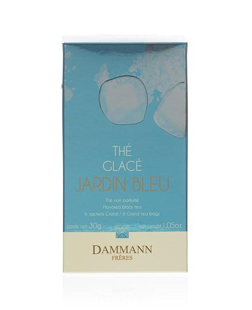 Jardin Bleu Iced Tea- cristal sachets - Dammann Frères