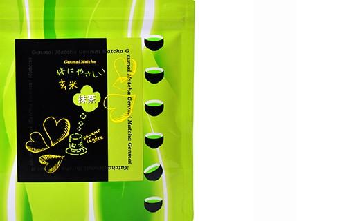 Matcha Genmai with roasted rice - Fujini Shoukai
