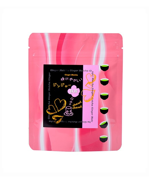 Matcha Tea with ginger - Fujini Shoukai