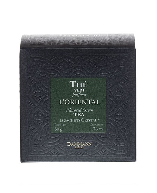 L'Oriental tea - cristal sachets - Dammann Frères