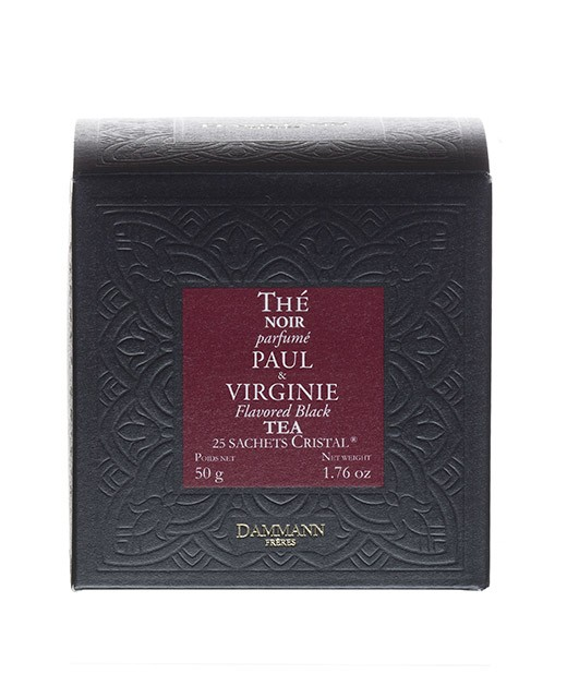Paul et Virginie Tea - cristal sachets - Dammann Frères