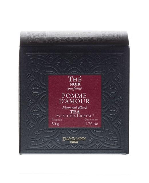 Pomme d'Amour Tea - cristal sachets - Dammann Frères