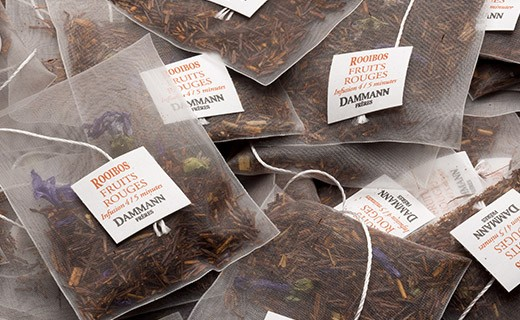 Rooibos Fruits Rouges Tea - cristal sachets - Dammann Frères