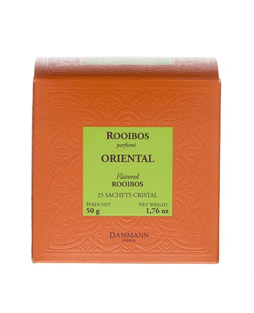Rooibos Oriental Tea - cristal sachets - Dammann Frères