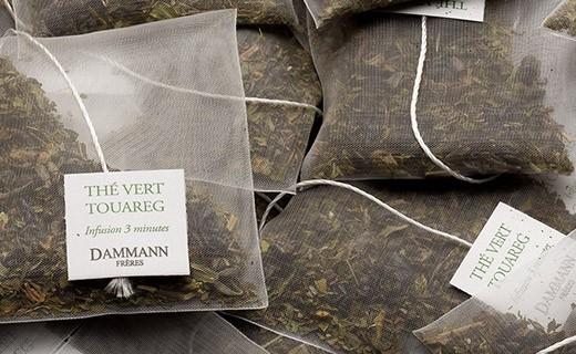 Touareg tea - cristal sachets - Dammann Frères