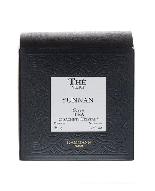 Yunnan Vert Tea - cristal sachets - Dammann Frères